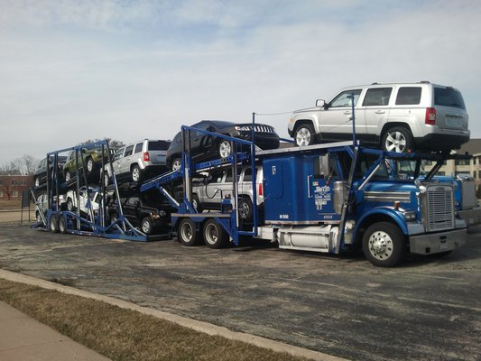 Car Hauling From New Jersey, California, Florida