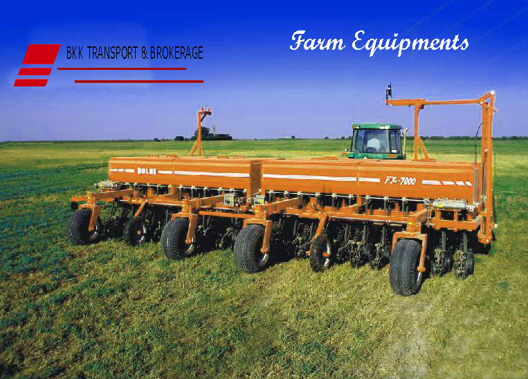 Heavy farm Equipments