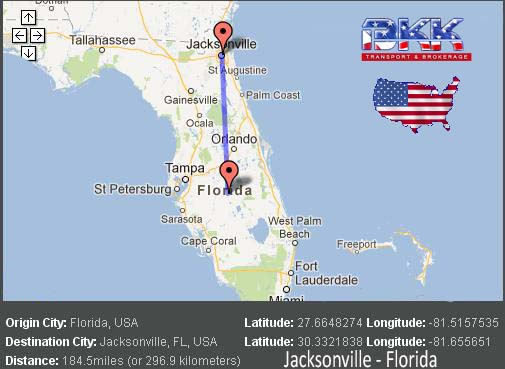 Jacksonville Car Transport Best Auto Shipping Rates BKK Transport