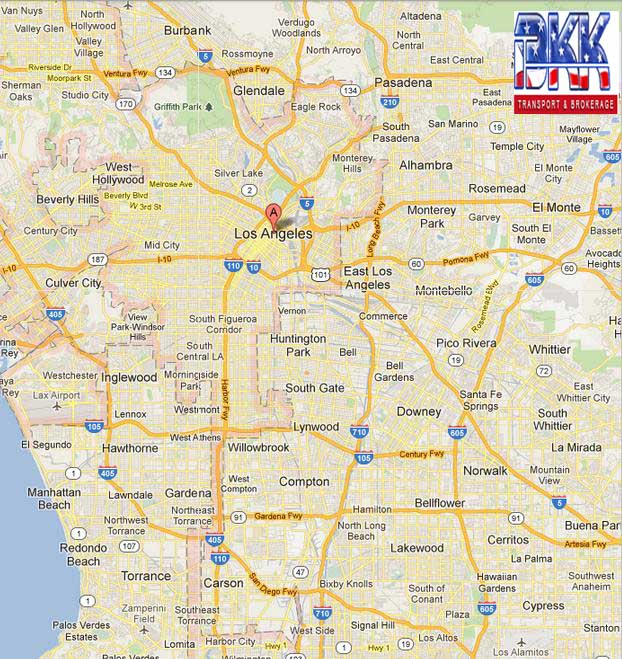 Car Shipping to Los Angeles  Reliable Auto Shipping Company