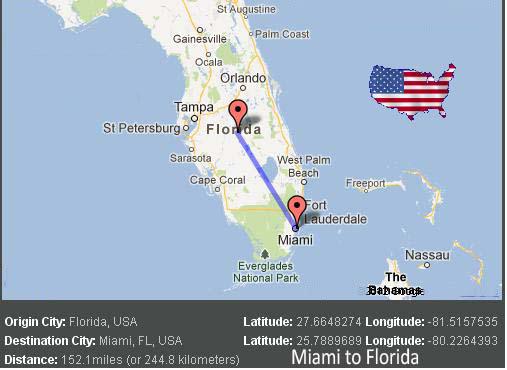 Miami to Florida Transport