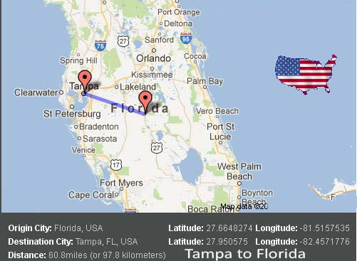 Tampa to Florida Transport