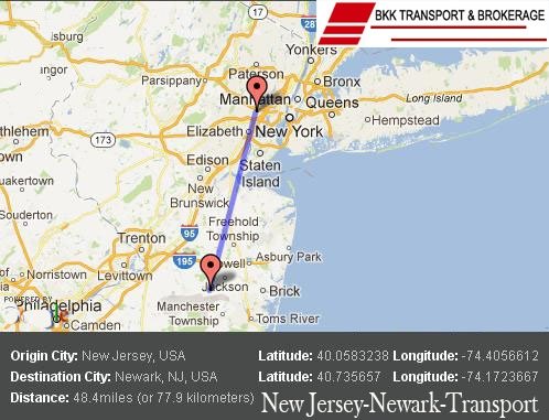 Auto Transport Shipping Newark